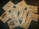 Bustine personalizzate di zucchero di canna